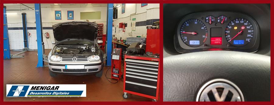 Reparación ABS VW Golf 4
