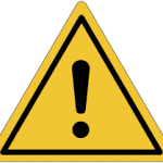señal peligro