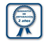 garantía de reparación 2 años