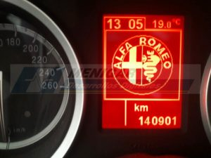 reparar display alfa romeo 159