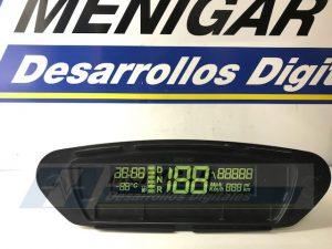reparación display cuadro de instrumentos microcar