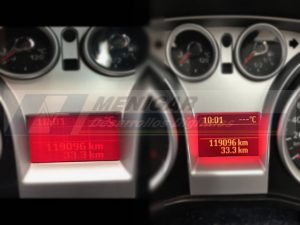 reparar display ford focus