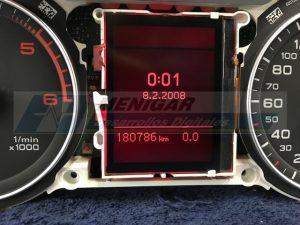 reparación lcd display pantalla monocromo fis audi a4