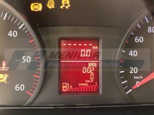 reparación display cuadro VW Crafter