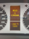 display cuadro mercedes clase b w245