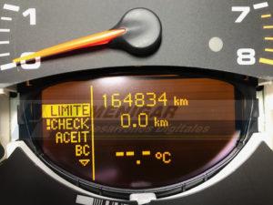 reparación display cuadro porsche 996