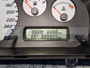 reparación display nissan almera 888888