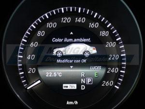 reparación display cuadro mercedes clase e w212