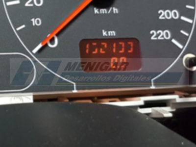 reparación del cuentakilómetros odómetro opel frontera