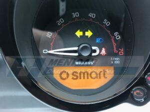 reparación display cuadro smart forfour ii brabus