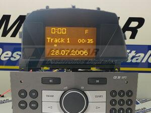 reparación display pantalla opel astra h zafira b