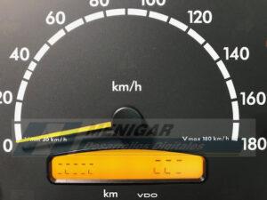 reparación display cuadro de instrumentos mercedes sprinter