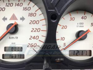 reparación display mercedes slk r170