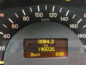reparación display cuadro mercedes viano vito w639 sin ordenador de a bordo