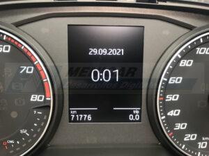 reparación display cuadro seat ibiza 6P