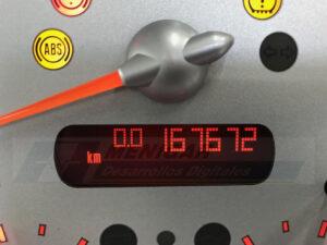 reparación display cuadro de instrumentos mini