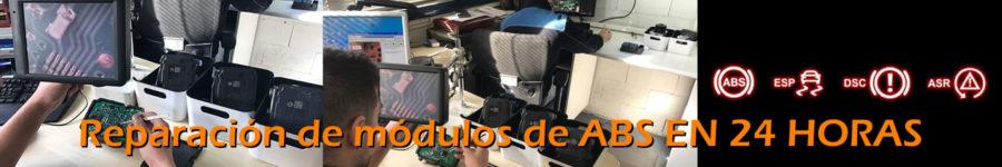 Reparación módulos  ABS Menigar